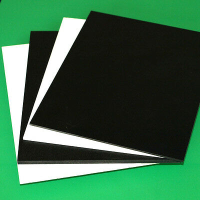 6mm 14 SINTRA PVC FOAM BOARD PLASTIC SHEETS YOU PICK SIZE - COLOR
