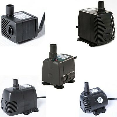 53 - 710 GPH Submersible Pump Aquarium Fish Tank Fountain Water Hydroponic