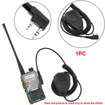 Practical Shoulder Handheld BAOFENG UV5R Speaker Mic Walkie Talkie Radio UV-5R