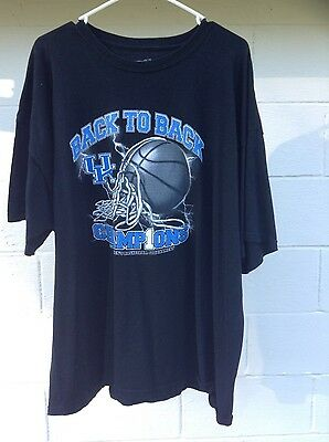 Kentucky SEC Tournament T-Shirt 3xl