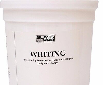 2 LB Whiting Powder for Stained Glass Putty  Cement Cleanup