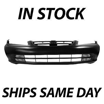 NEW Primered - Front Bumper Cover Fascia for 2001 2002 Honda Accord Sedan 01 02