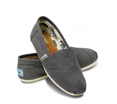 TOMS CLASSICS ASH WOMEN SHOES- BRAND NEW WITH TAG- ALL SIZES