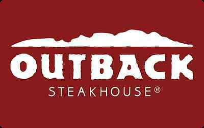 Outback Steakhouse Gift Card 25 50 100 - Email delivery