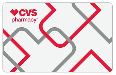 CVS Pharmacy eGift Card 25 50 100 - Email delivery