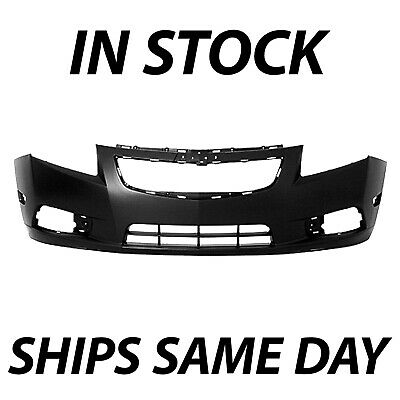 NEW Primered - Front Bumper Cover Fascia for 2011-2014 Chevy Chevrolet Cruze