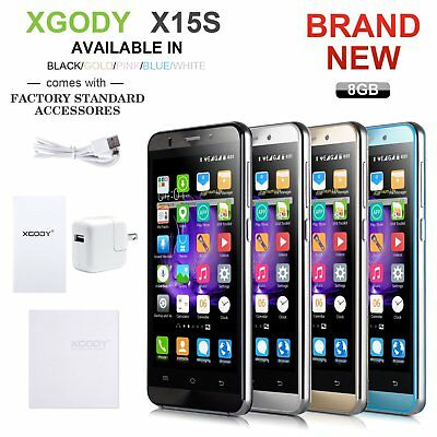 XGODY Unlocked 5 Smartphone 3G Android 5-1 Mobile Phone GPS Dual SIM Quad Core