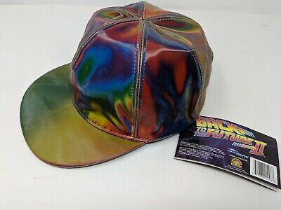 New Marty McFly Licensed Color Changing Hat Cap Back to the Future Prop