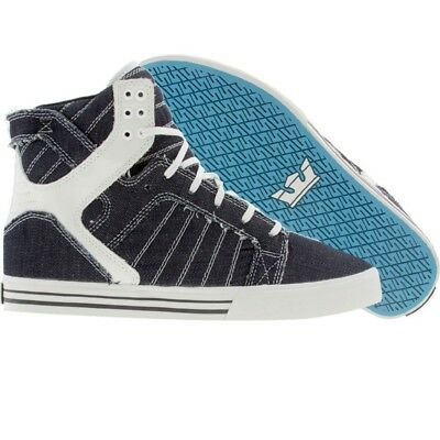 120 New Men Supra Premium Skytop denim Skate OG fashion Sneakers
