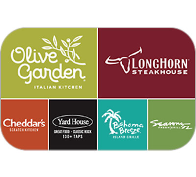 Darden Restaurants - Gift Card 25 50 100 - Email delivery