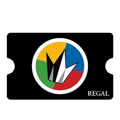Regal Movie Gift Card 25 50 100 - Email delivery