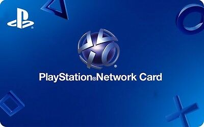 Sony Playstation Network Gift Card - 20 or 50 - Email delivery