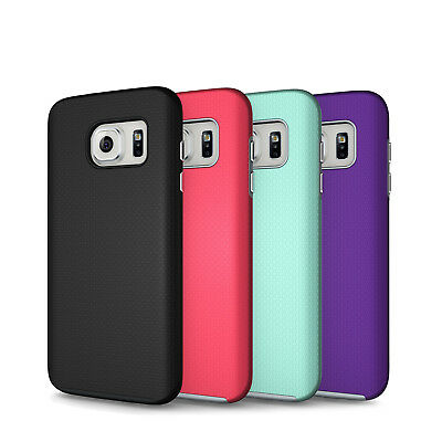 Galaxy S7 Case Hybrid Tough Cute Shockproof Rubber S7 Edge S8 Plus S8- Cover