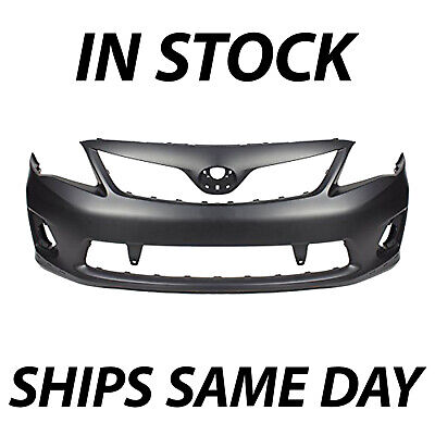 NEW Primered - Front Bumper for 2011 2012 2013 Toyota Corolla S  XRS TO1000373