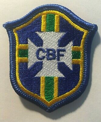 CBF BRAZIL BRASIL SOCCER FUTBOL FIFA WORLD CUP EMBROIDERED CONMEBOL PARCHE PATCH