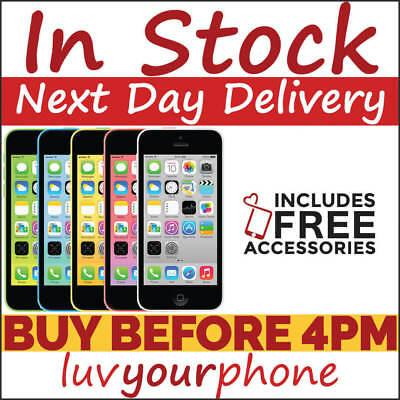 Apple iPhone 5c 8GB 16GB 32GB All Colours Unlocked New Condition Apple Swap Unit