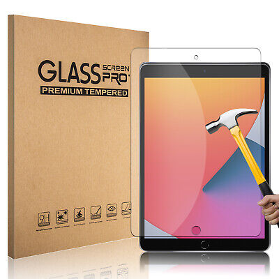 For New iPad 6th Generation 9-7 2018 HD Clear Tempered Glass Screen Protector