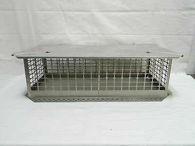 Stainless Steel Crown Mount Chimney Cap wMultiple Sizes Brand New
