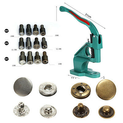 Snap Pressing Machine Snap On Tool Various Dies SetsSnap Fasteners for you pick