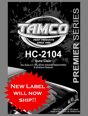 HC 2104 EURO CLEAR 2110  54 SOLIDS CLEAR COMPARE TO GLASURIT SPIES