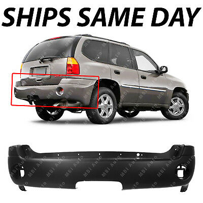 NEW Primered Rear Bumper Cover Replacement for 2002-2009 GMC Envoy  XL 12335703