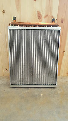 22x25  Water to Air Heat Exchanger With 1 Copper portsAMERICAN MADE