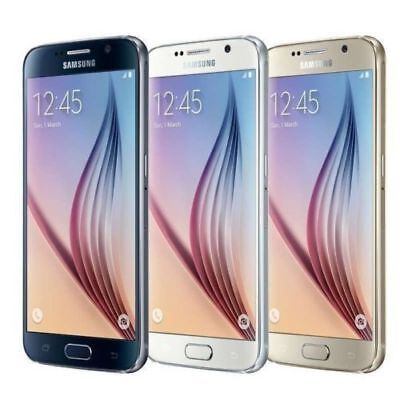 5-1 Samsung Galaxy S6 SM-G920A 16MP 32GB AT-T Unlocked Android Smartphone