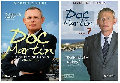 Doc Martin The Complete Series Season 1-7 DVD New Free Shipping