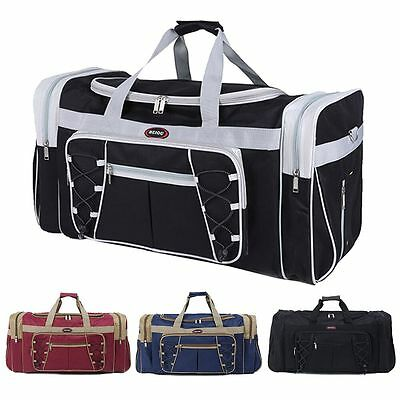 New 26 Heavy Duty Tote Gym Sports Bag Duffle Travel Carry Shoulder Bag Luggage