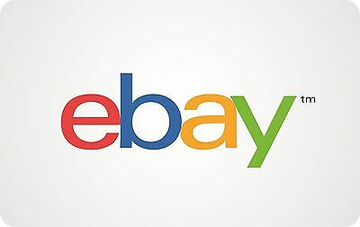 eBay Gift Card 50100200 -with free gifting packaging -US Mail delivery