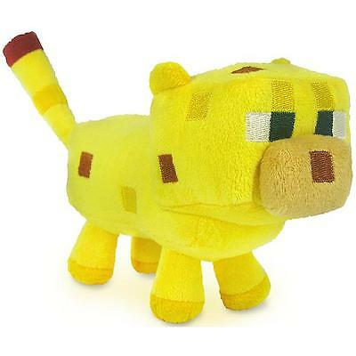 Minecraft Baby Ocelot Plush Toy - NEW - FREE FAST USA SHIPPING
