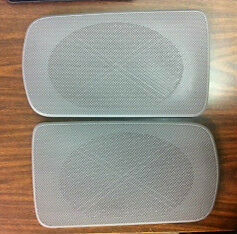 Toyota Camry Gray Replacement Rear Speaker Grille Covers 2002-2006 OEM