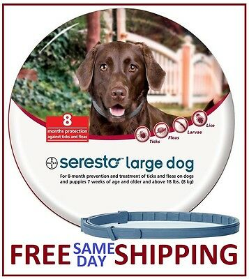 Seresto Flea - Tick Collar for Large Dogs over 18lbs