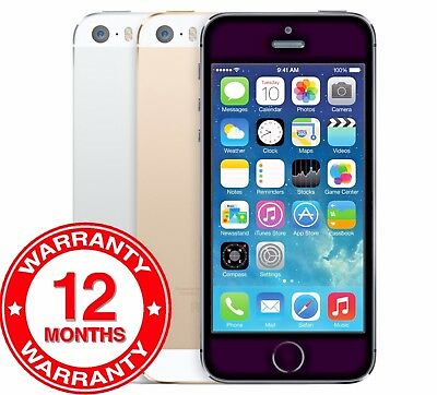 Apple iPhone 5s - 16GB 32GB 64GB - Unlocked SIM Free Smartphone All Colours