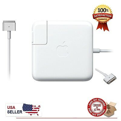 NEW Original 60W Magsafe 2 Power charger Adapter for Apple MacBook pro 13 A1435