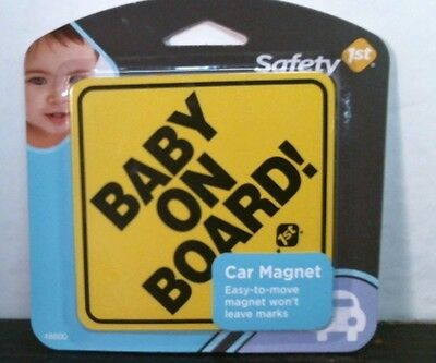 Safety 1st 48800 Baby on Board Car Magnet FREE SHIPPING