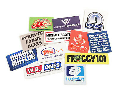 The Office Dunder Mifflin Refrigerator Magnets 11 Total