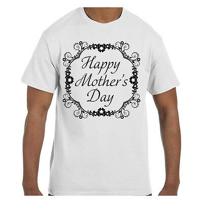 Tshirt Mothers Day Happy Mothers Day Flower Design