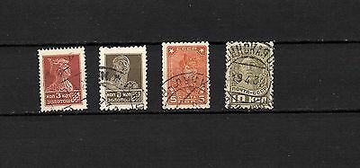 RUSSIA - SOVIET UNION -  COLLECTION OF OLD STAMPS - USED  LOT RUS - 58