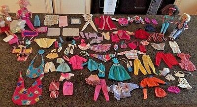 Vintage Huge Barbie Doll Lot - Dolls Clothes Accessories - More WOW