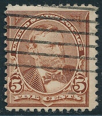 DR JIM STAMPS OLD US SCOTT 255 5C GRANT USED NO RESERVE FREE SHIPPING