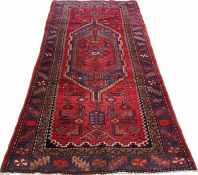 1507 Antique Zanjan Persian Rug Hand Knotted  45 x 75