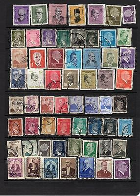 TURKEY - EUROPE -  COLLECTION OF USED STAMPS  - KILOWARE Lot TUR 503