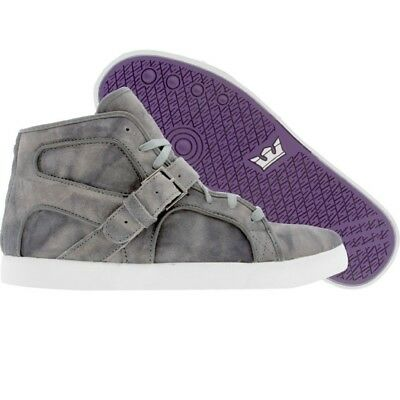 210 New Men Supra Premium Trinity NS grey tiedye skate fashion sneakers