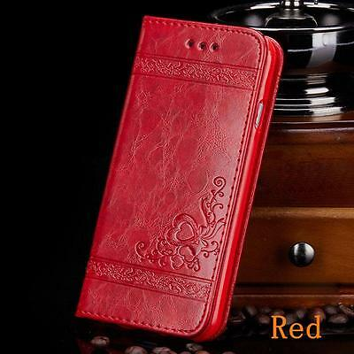 For Apple iPhone 5 5s SE Luxury Flip Cover Wallet Card Leather Phone Case Stand