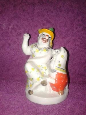 Rat and mouse- Character poetry- Russian porcelain figurine 5601c