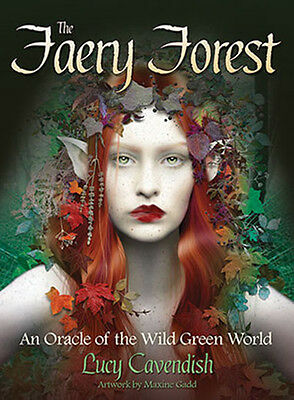The Faery Forest Oracle NEW Deck and Book Set by Maxine Gadd Fantasy Fae Cards