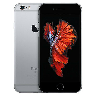 Apple iPhone 6s - 64GB - Space Grau Ohne Simlock Smartphone