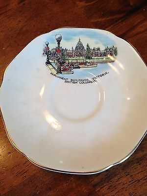 ROYAL GRAFTON FINE BONE CHINA TEA CUP AND PLATE VICTORIAN BUILDINGS B-C-