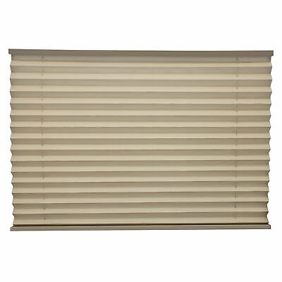 RV Camper Pleated Blind Shades Cappuccino 50 X 38